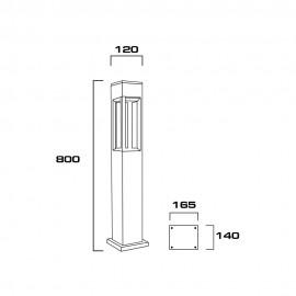 BOL-0213-GU10-BK-D